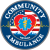 Community Ambulance – Hometown Heart Logo